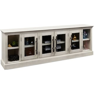 Telluride TV Stand - Water White