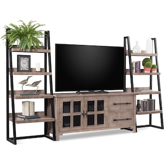 Tiburon 3-Piece Entertainment Center