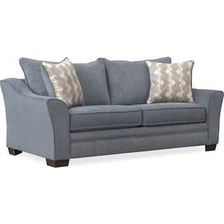 Trevor Loveseat - Blue