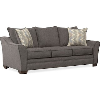 Trevor Queen Foam Sleeper Sofa - Gray
