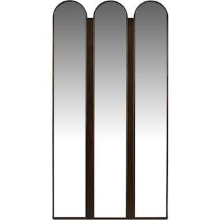 Tri-panel Floor Mirror