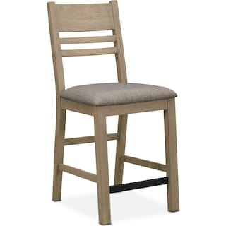 Tribeca Counter-Height Dining Chair - Gray
