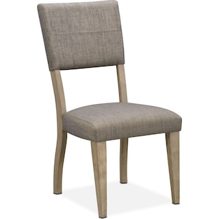Tribeca Upholstered Dining Chair - Gray