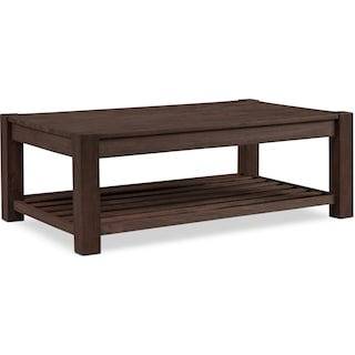 Tribeca Coffee Table - Tobacco