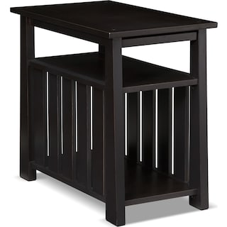 Tribute Chairside Table - Black
