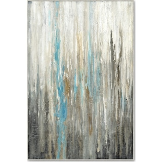 Vertical Abstract Wall Art