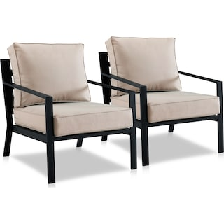 Watson Set of 2 Outdoor Chairs