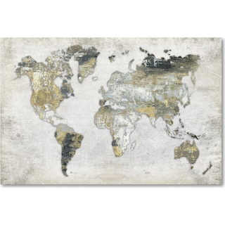 Whole World Wall Art