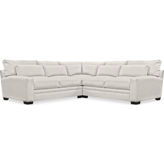 Winston Comfort 3-Piece Sectional - Anders Ivory