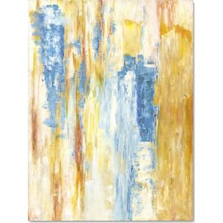 Yellow Blue Wall Art