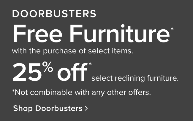 See all our doorbusters