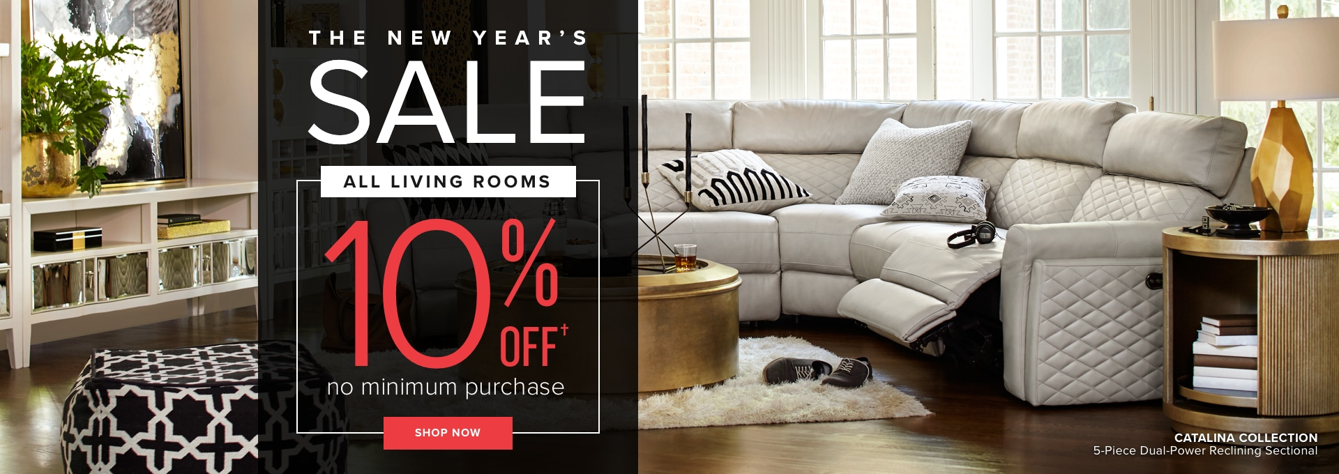 All Living Rooms 10% Off No Minimum Purchase Shop Now