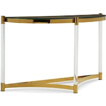 adeline gold sofa table