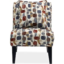 adrian gray  pc sectional and accent chair