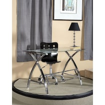 aether chrome desk