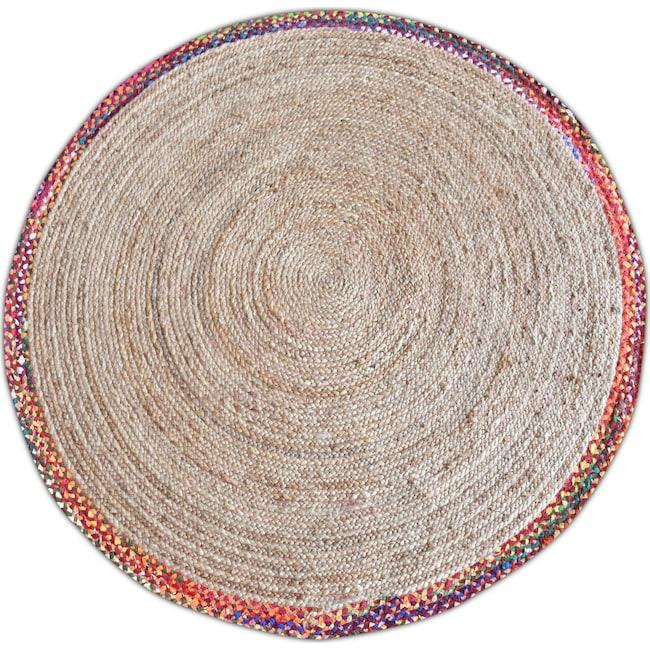 Rugs - Afono Round Area Rug - Multi