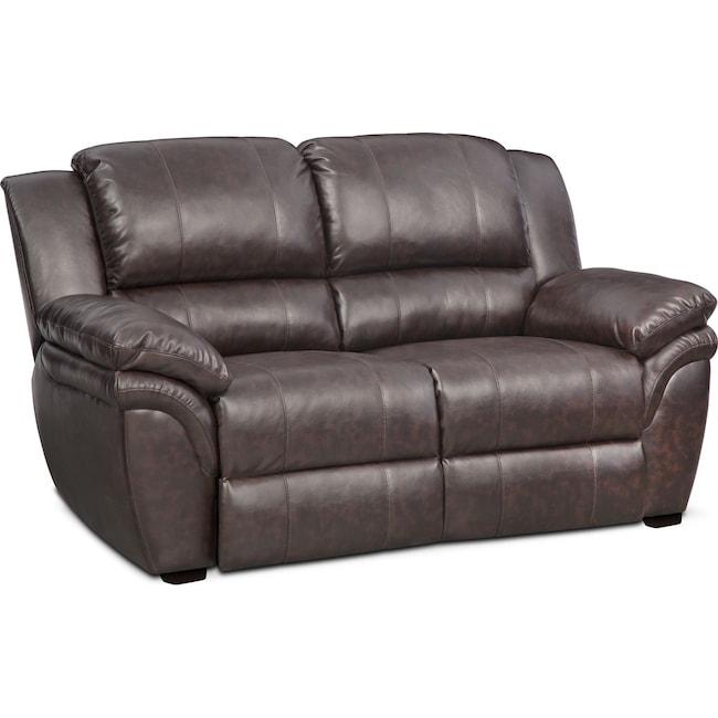 Living Room Furniture - Aldo Stationary Loveseat