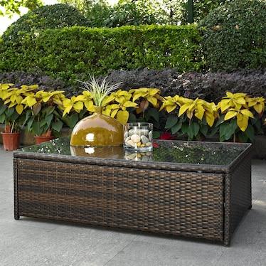 Aldo Outdoor Coffee Table - Brown