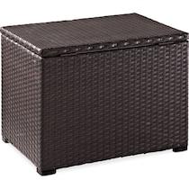 aldo dark brown outdoor cooler