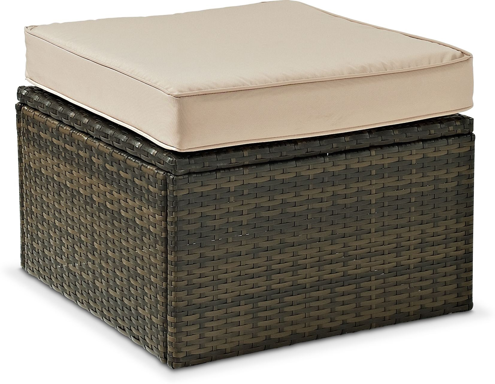 Outdoor Furniture - Aldo Outdoor Ottoman