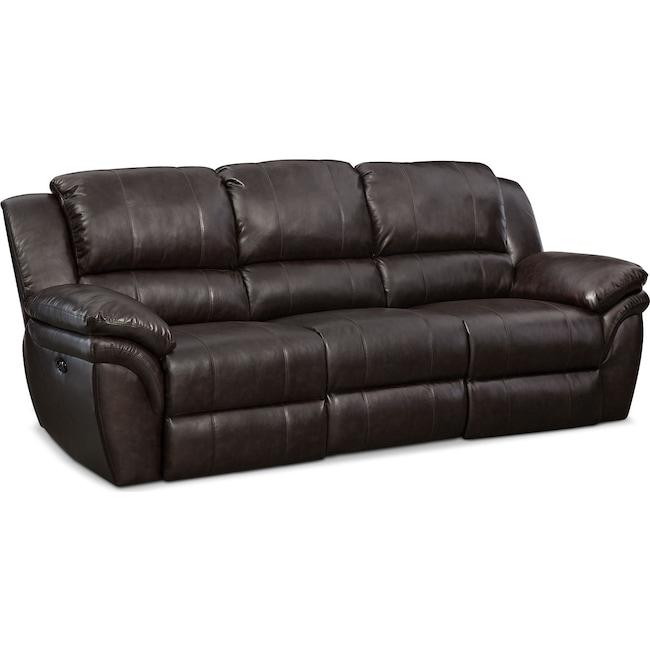 Living Room Furniture - Aldo Power Reclining Sofa
