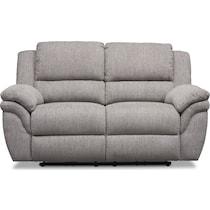 aldo gray  pc manual reclining living room