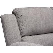 aldo gray  pc power reclining living room