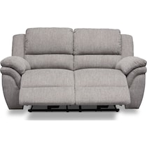 aldo gray manual reclining loveseat