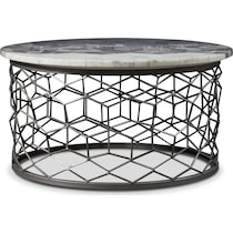 alexandria gray coffee table