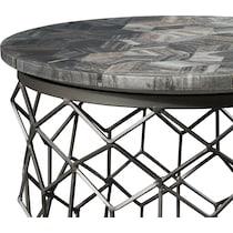 alexandria gray end table