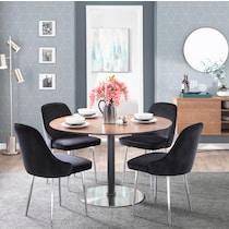 ali black dining chair