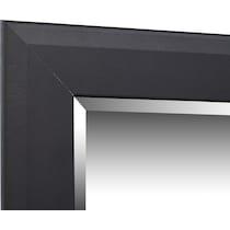 allori black dresser & mirror w chest