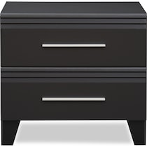 allori black nightstand