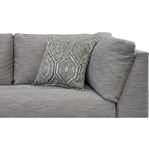 anderson gray  pc sectional with left facing chaise