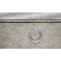 angelina silver chest