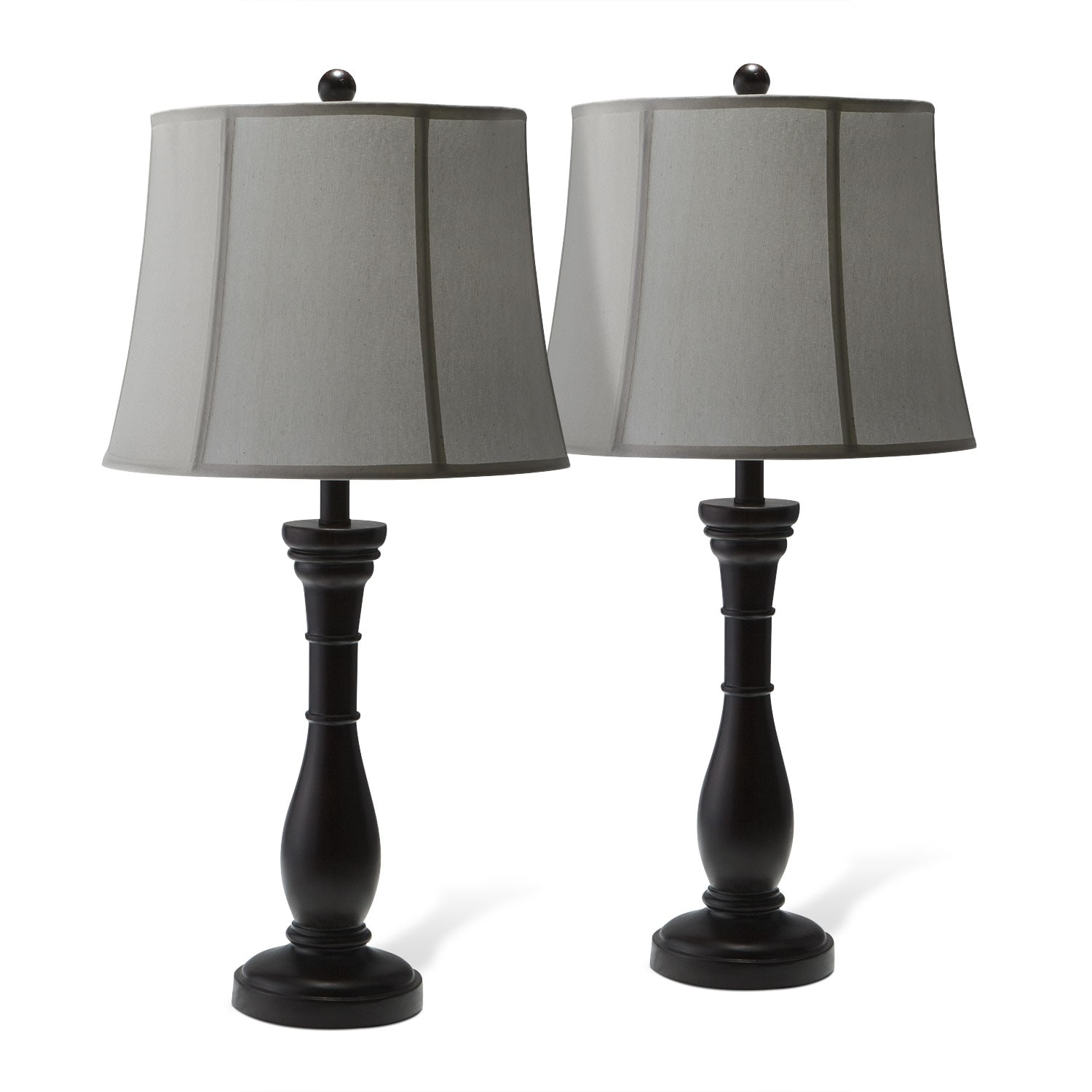 Home Accessories - Annette Set of 2 Table Lamps