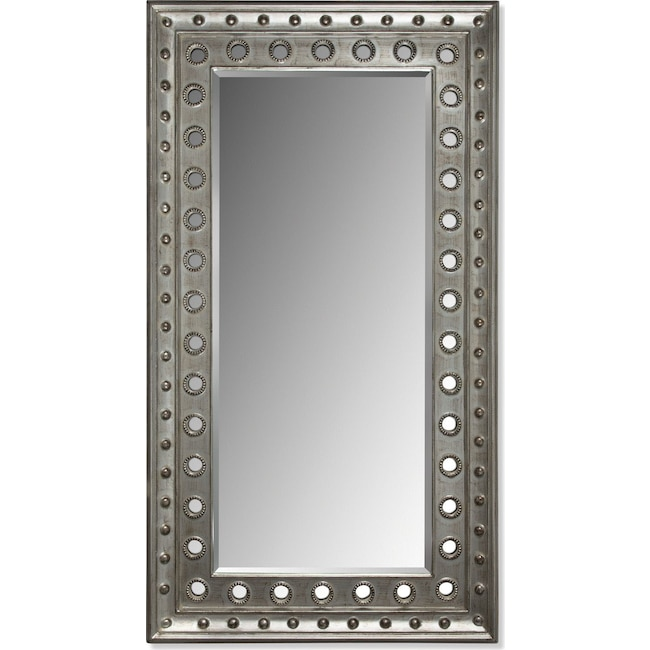 Accent and Occasional Furniture - Antique Floor Mirror