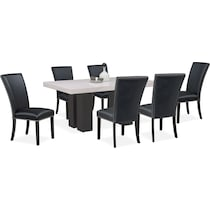 artemis black  pc dining room