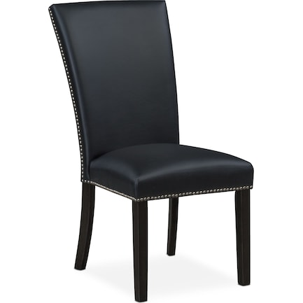Artemis Upholstered Dining Chair - Black