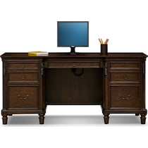 ashland dark brown desk