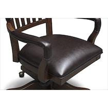 ashland dark brown office chair