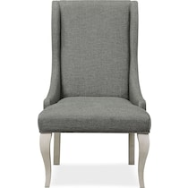 athena dining gray dining chair