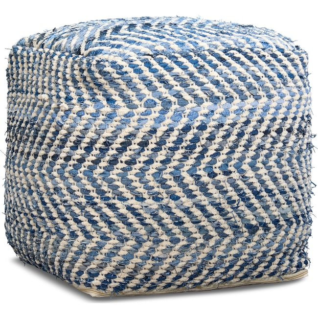 Accent and Occasional Furniture - Atlas Pouf
