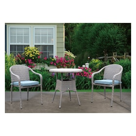 Augusta Outdoor Bistro Table and 2 Chairs