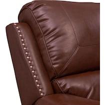 austin dark brown power recliner