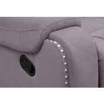 austin gray recliner