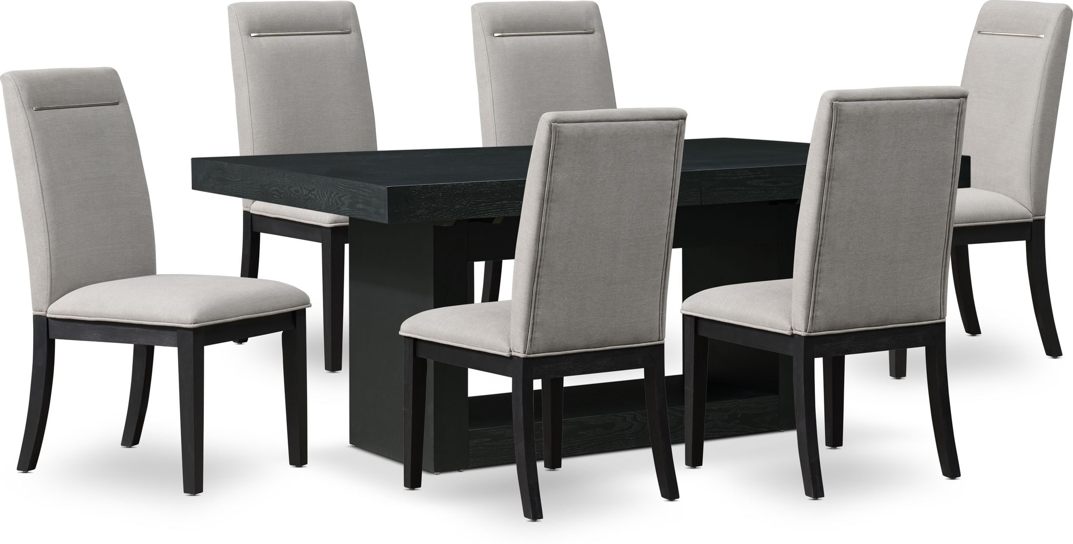 Dining Room Furniture - Banks Dining Table with 6 Chairs