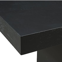 banks black dining table