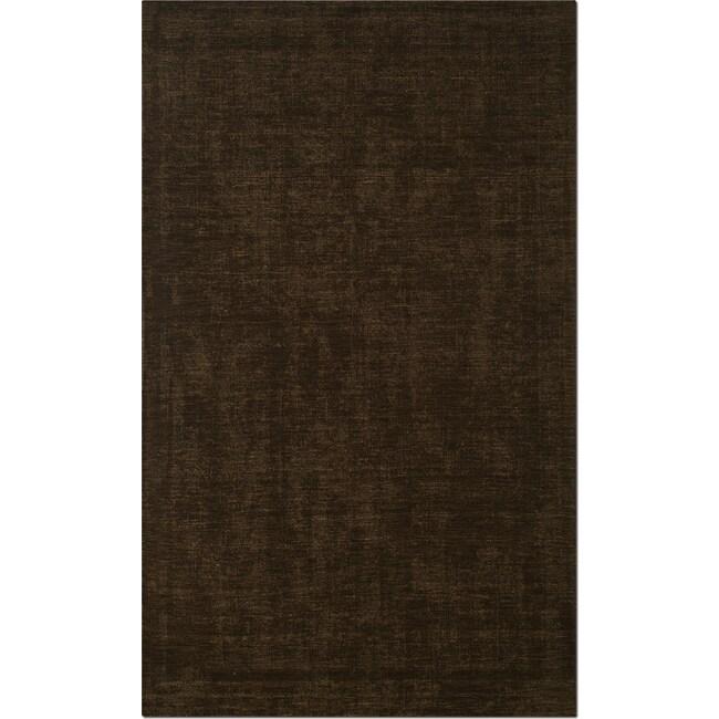 Rugs - Basics Area Rug - Medium Brown