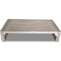 beach club gray outdoor coffee table